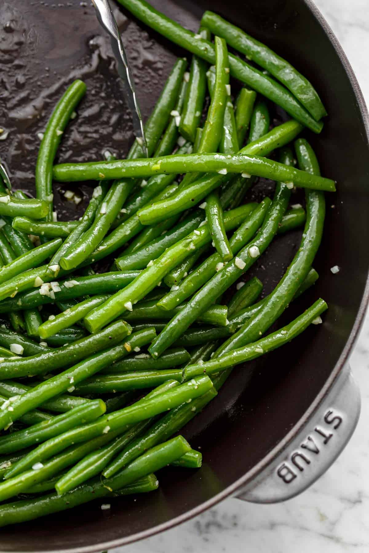 Buttery Sauteed Green Bean Recipe Cafe Delites