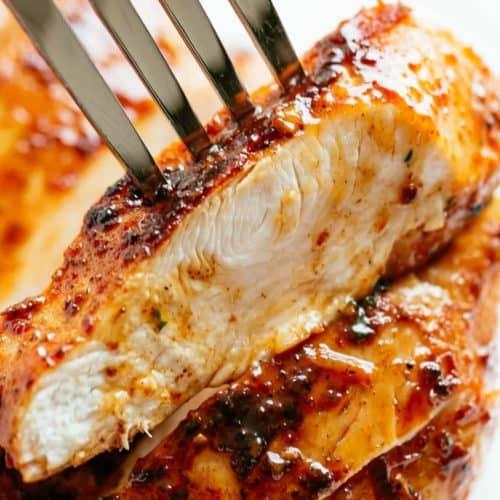 Juicy Oven Baked Chicken Breast