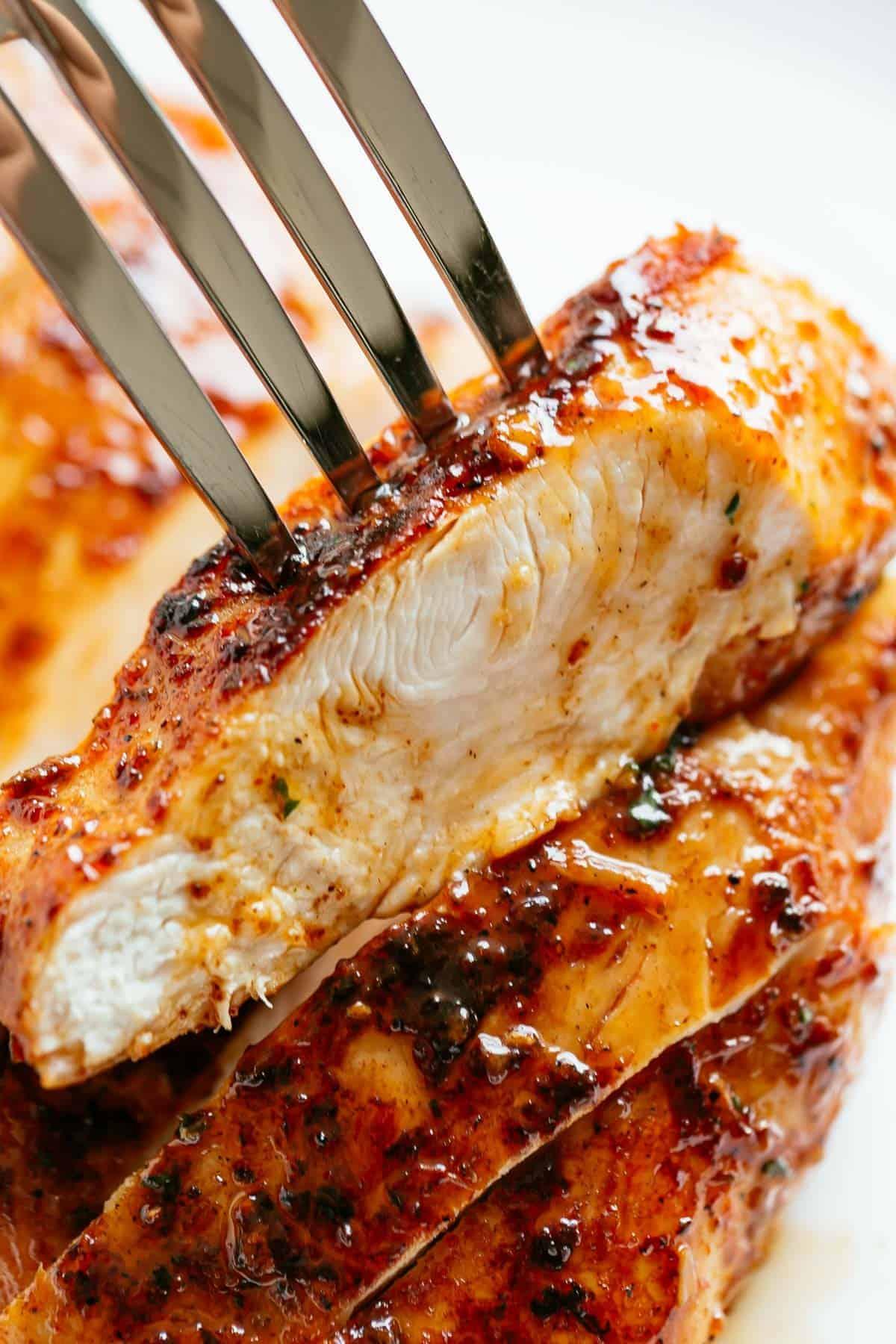 Juicy Oven Baked Chicken Breast Cafe Delites