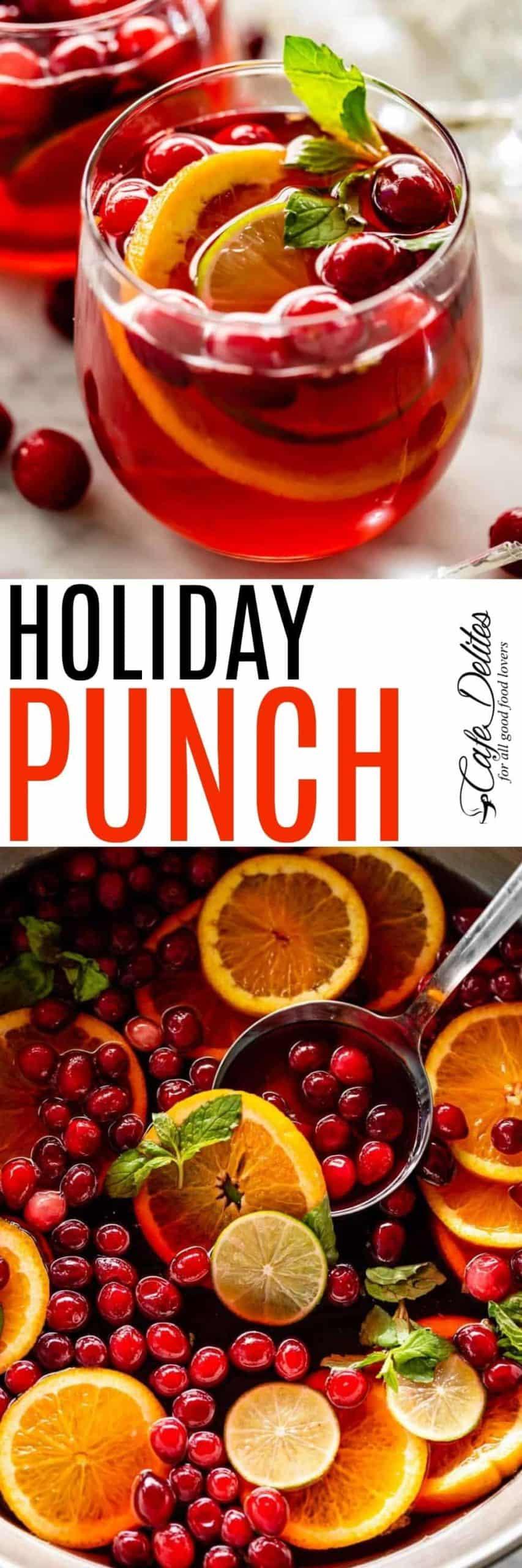 Holiday Punch   cafedelites.com