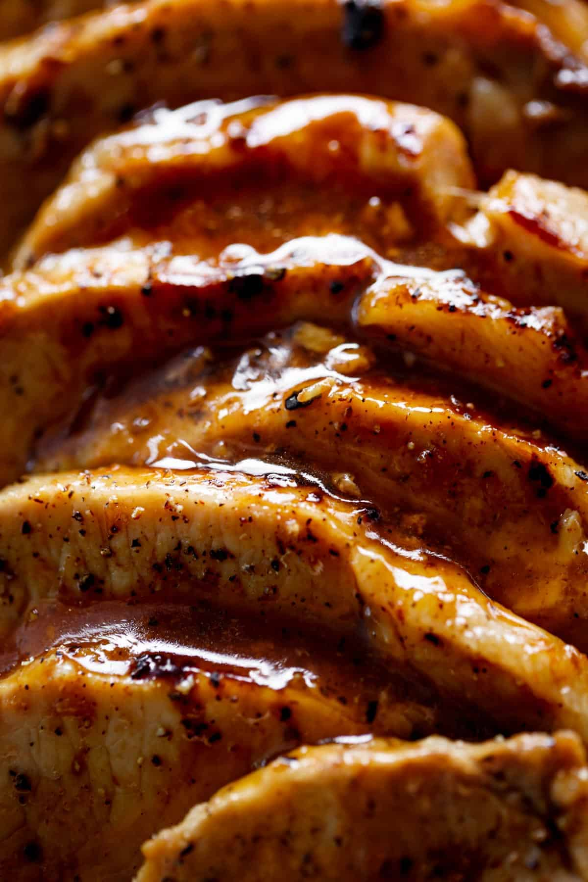 honey garlic pork loin | cafedelites.com