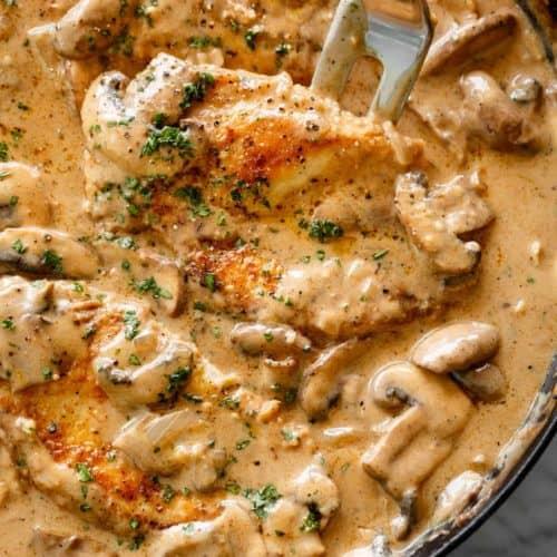 Chicken Stroganoff | cafedelites.com