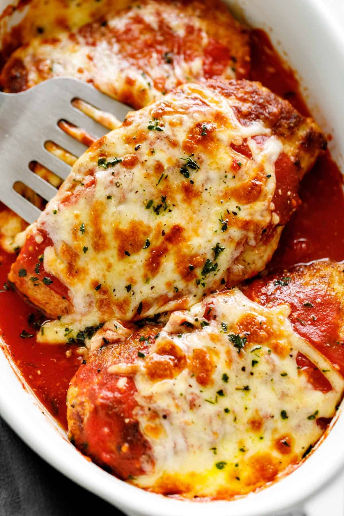 Low Carb Chicken Parmesan Keto Cafe Delites