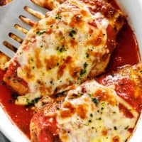 Low Carb Chicken Parmesan Recipe | cafedelites.com
