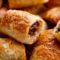 Sausage Rolls | cafedelites.com