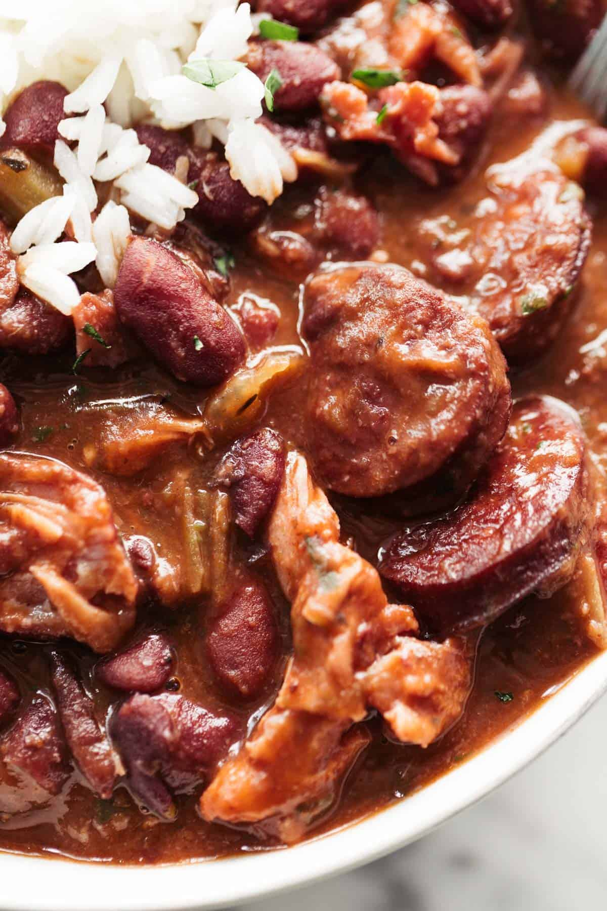 BEST Red Beans and Rice recipe | cafedelites.com