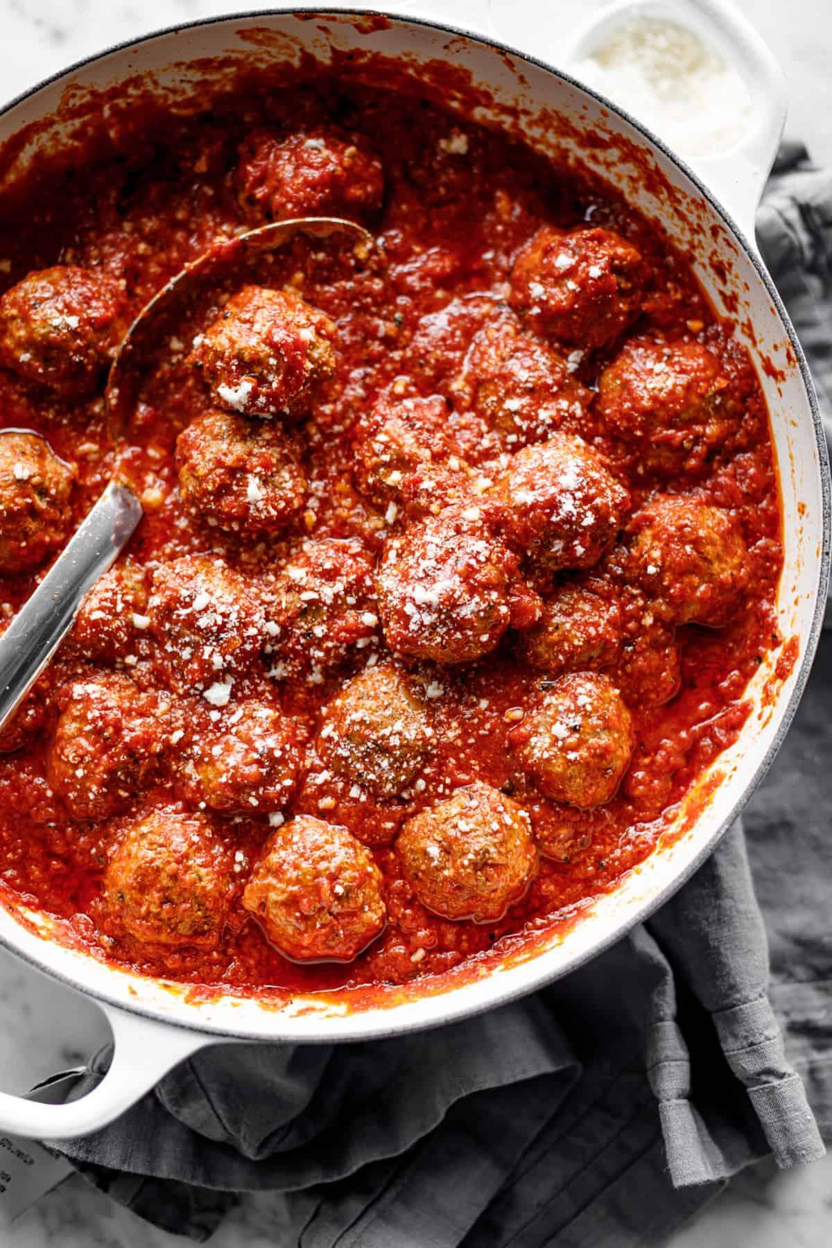 Baked Meatballs | cafedelites.com