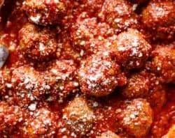 Easy Baked Meatballs | cafedelites.com