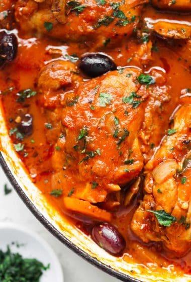 Chicken Cacciatore | http://cafedelites.com