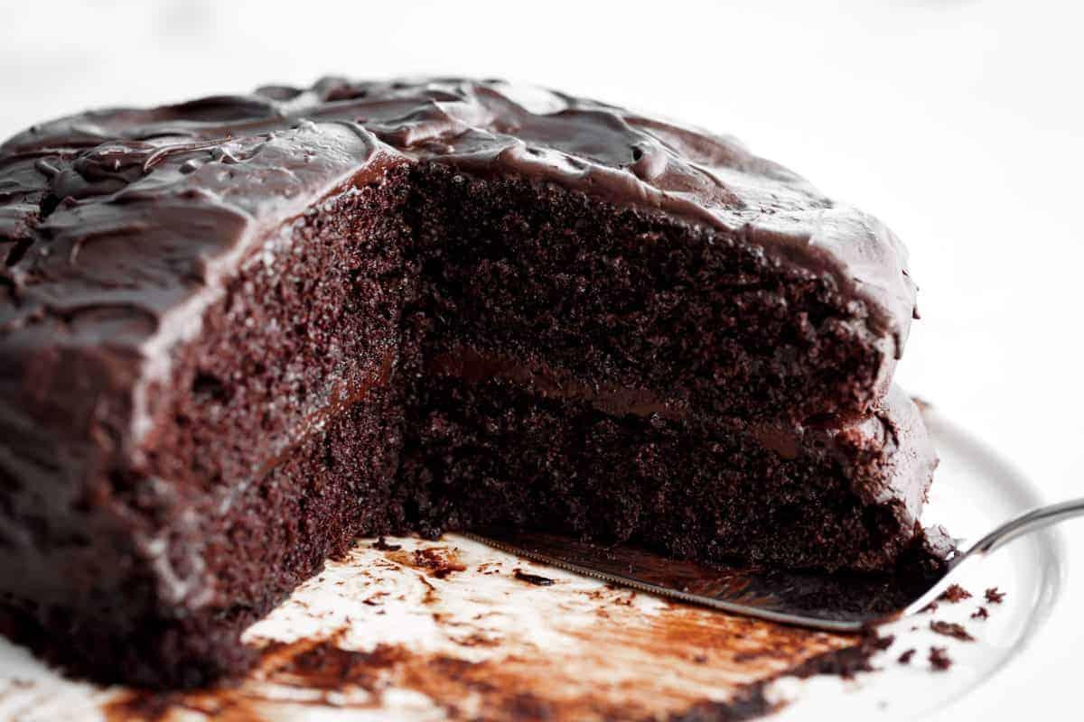 Chocolate Cake | cafedelites.com