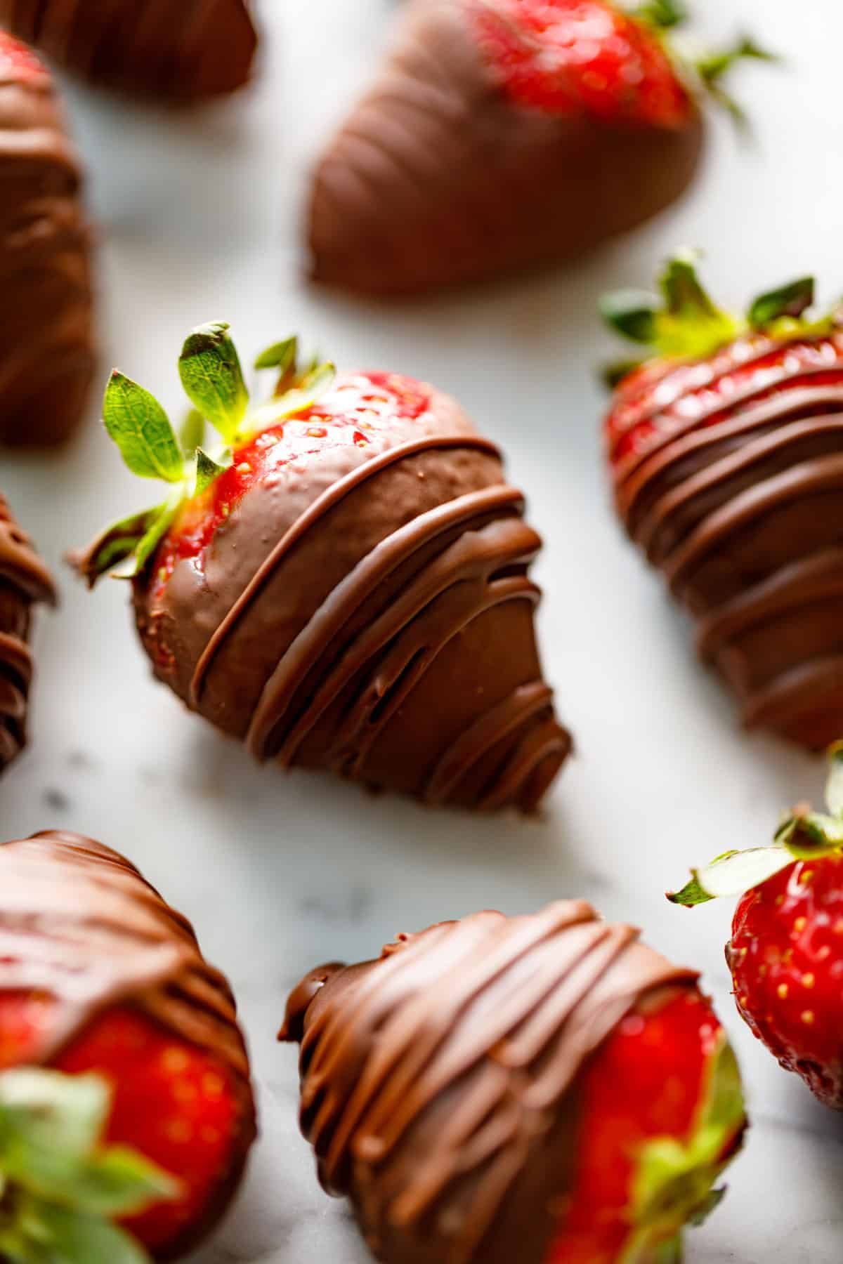 Chocolate Covered Strawberries | cafedelites.com