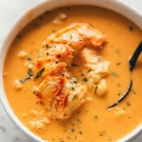 Lobster Bisque | cafedelites.com
