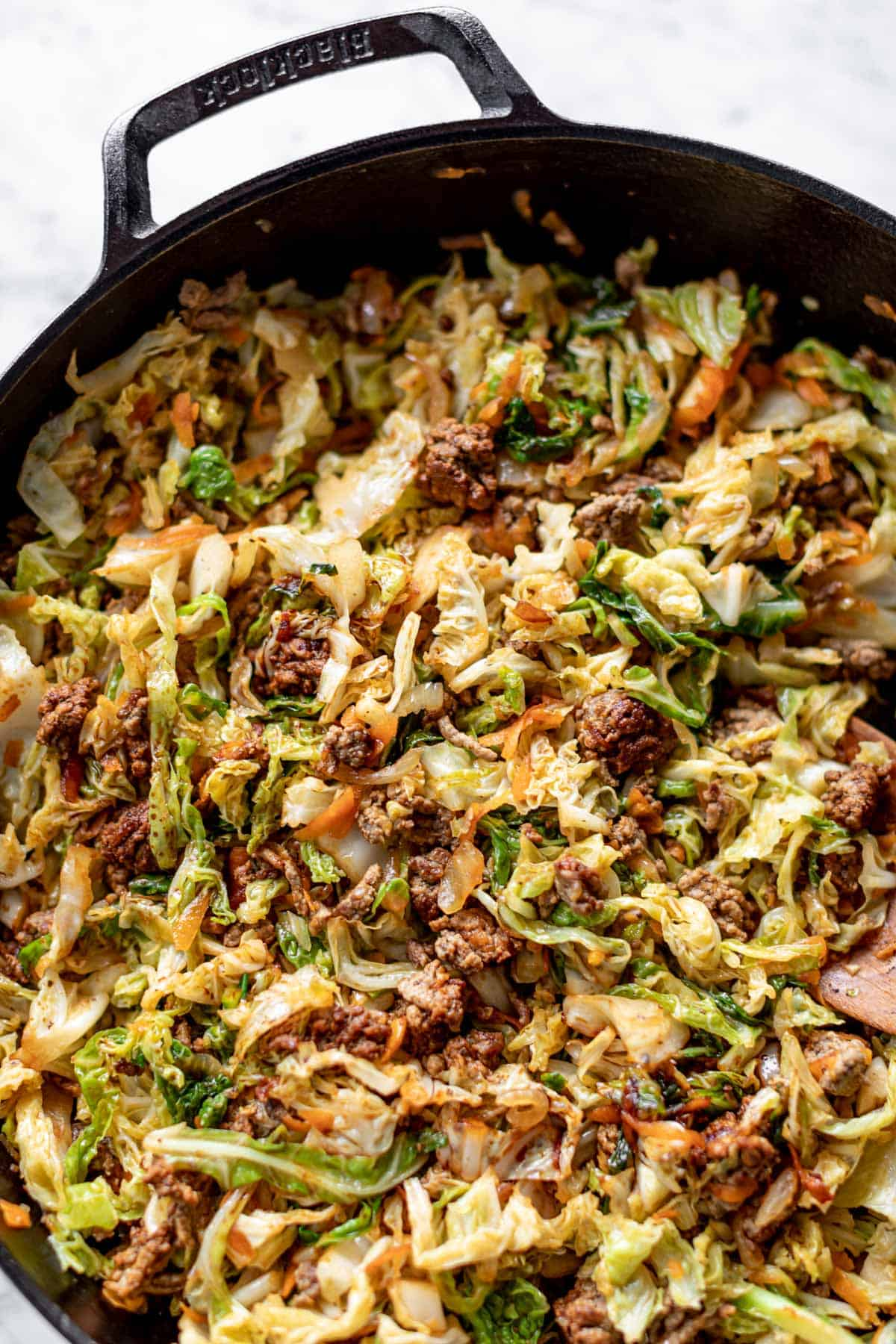 Beef Cabbage Stir Fry