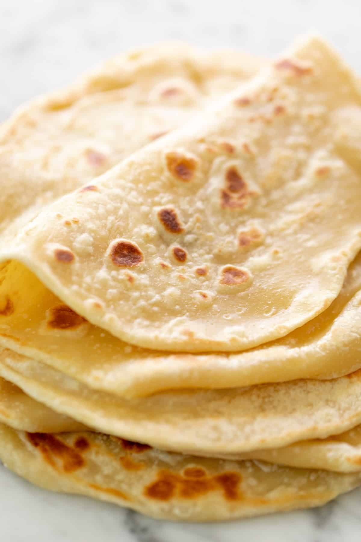 An incredibly easy flatbread recipe! | https://cafedelites.com