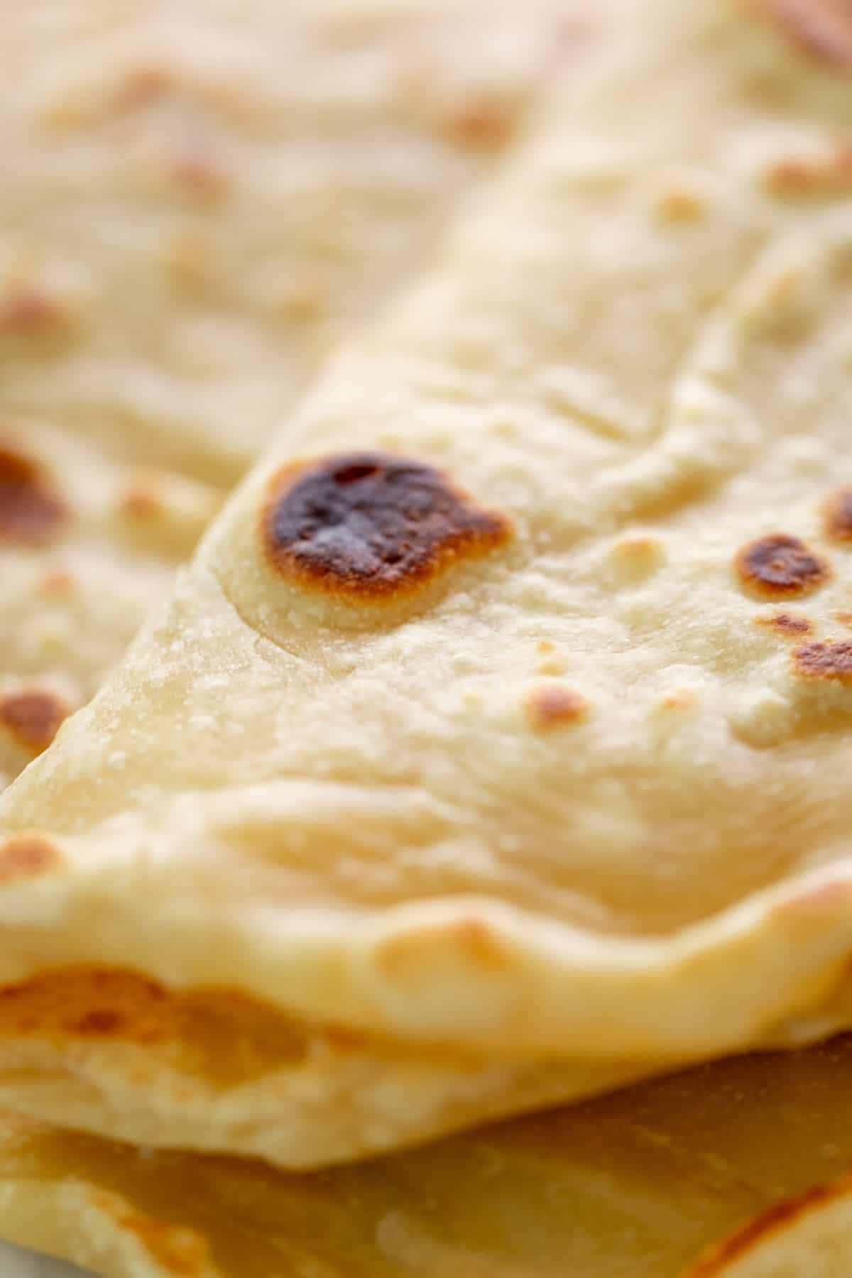 Easy Flatbreads close up | cafedelites.com