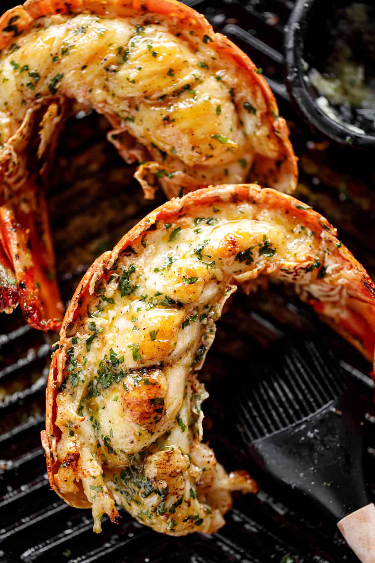 Easy Grilled Lobster Tails With Garlic Butter Cafe Delites