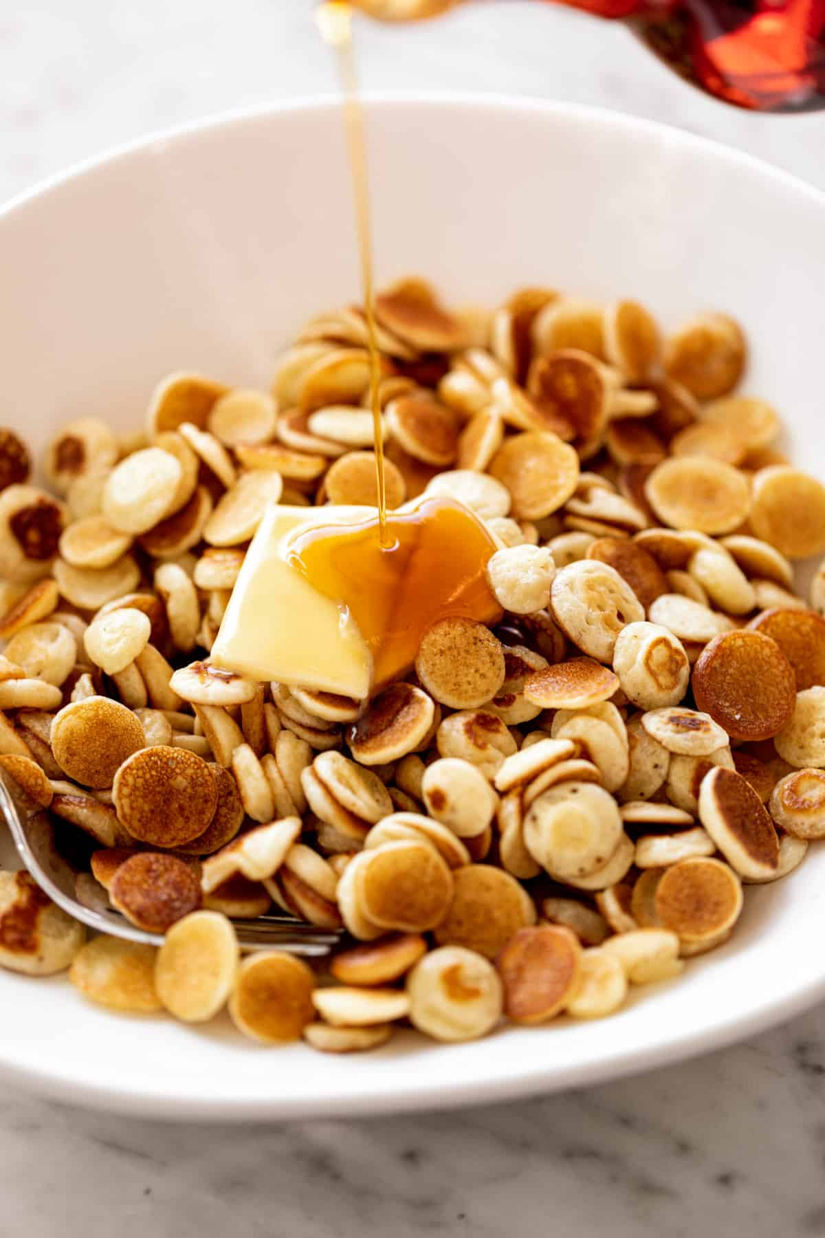 Mini Pancakes Cereal Cafe Delites